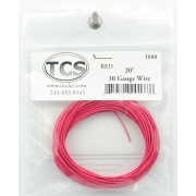 TCS 20 FT RED 1080 #30 DECODER WIRE