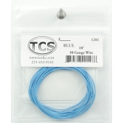 TCS 10 FT BLUE 1201 #30 DECODER WIRE