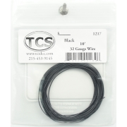TCS 10 FT BLACK 1217 #32 DECODER WIRE