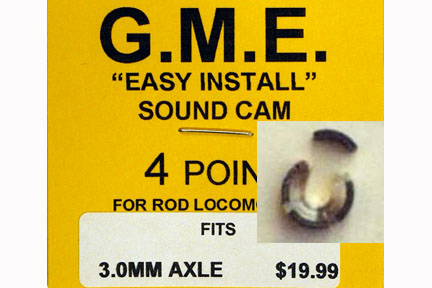 GME CAM 3 MM AXLE