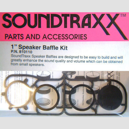 SOUNDTRAXX 810110 Round 1 Inch Speaker Baffle Kit