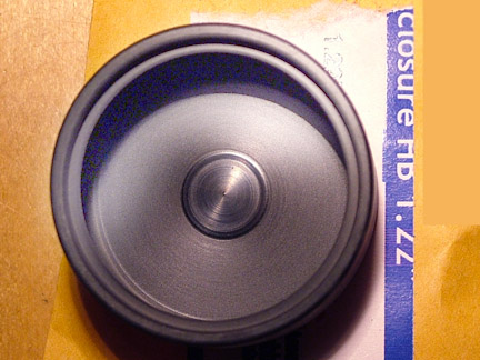 "HB122R High Bass 1.22"" D X 0.62"" H Speaker ENCLOSURE"
